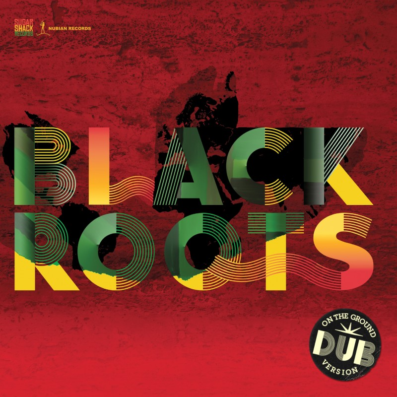 BLACKROOTS DUB STICKERED FOD093CD