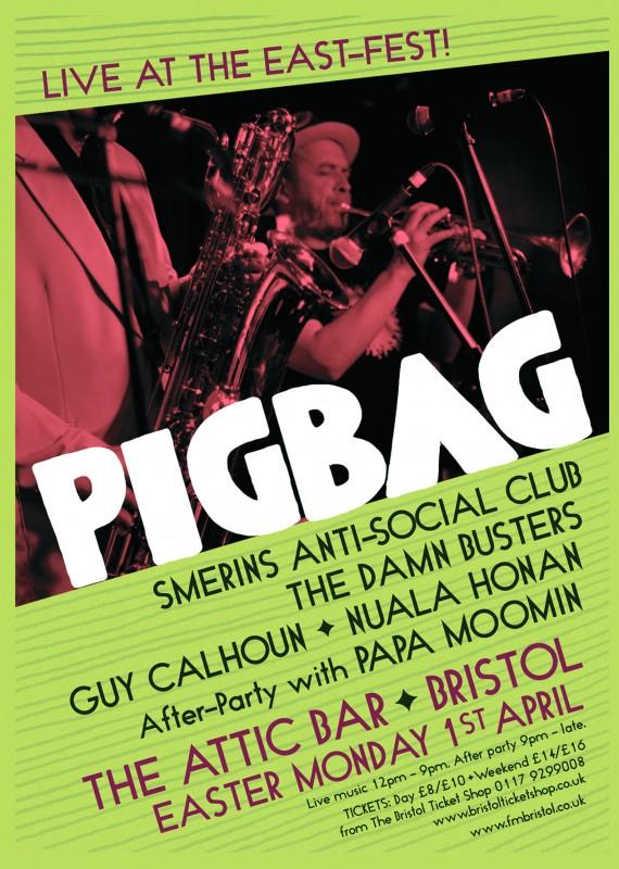 PIGBAG LIVE A6