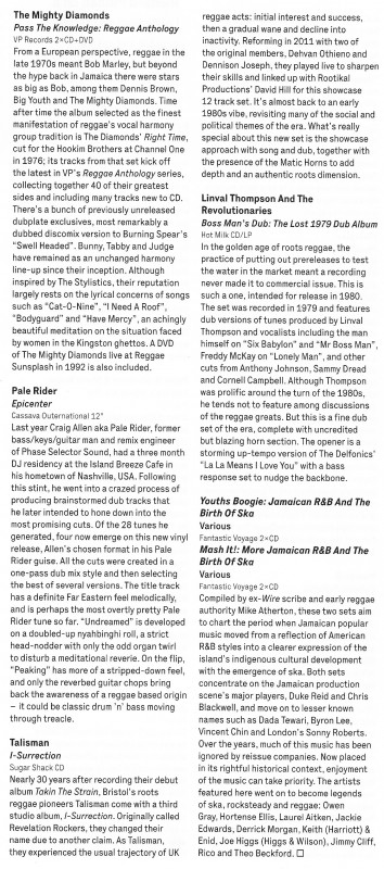 Talisman I Surrection Wire Magazine Review Oct 2013